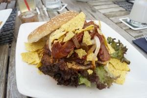 400gr. Gringo Burger, ein pikantes Teil.