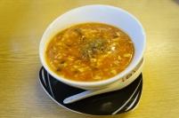Die Pekingsuppe, lecker, säuerlich, ein Klassiker