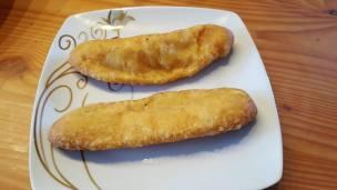 2 Piraschki mit Kartoffelfüllung
